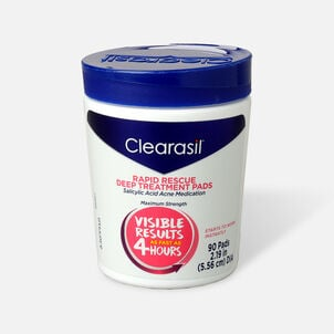 Clearasil Rapid Rescue Deep Treatment Pads - 90ct