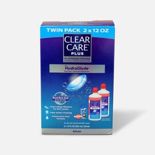 Clear Care Plus Cleaning and Disinfecting Solution 12 oz (Pack of 2)