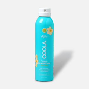Coola Classic Body Organic Sunscreen Spray SPF 30, Pina Colada, 6oz