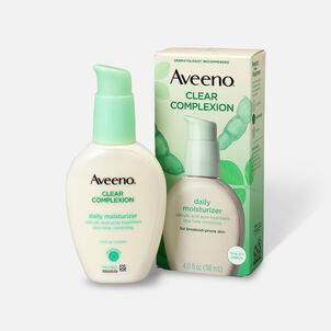 Aveeno Clear Complexion Face Moisturizer, 4oz