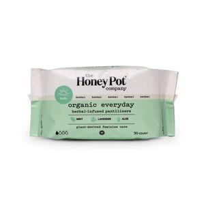 The Honey Pot Everyday Pantiliners, 30 ct