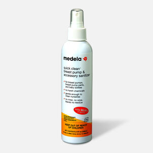 Medela Quick Clean Breast Pump & Accessory Sanitizer 8 oz