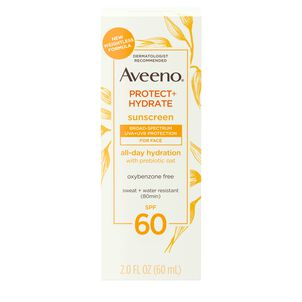 Aveeno Protect + Hydrate Face Lotion, SPF 60, 2 oz