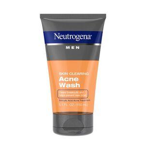 Neutrogena Men Skin Clearing Acne Wash, 5.1oz