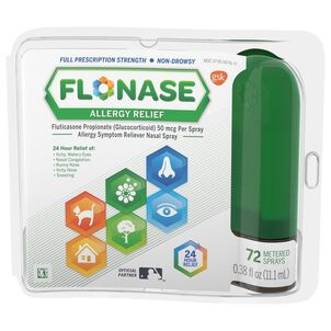 Flonase Allergy Relief Nasal Spray, 72 ct