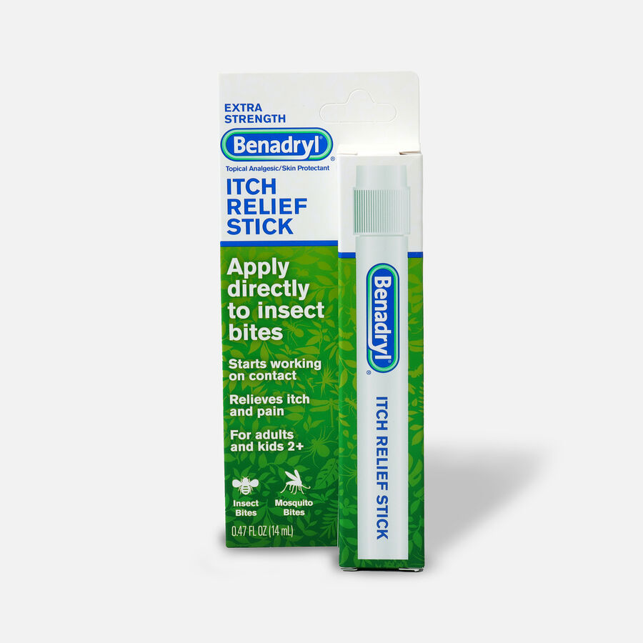 Benadryl Itch Relief Stick 14 ml, , large image number 1