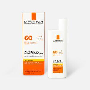 La Roche-Posay Anthelios Ultra Light Fluid Face Sunscreen Broad Spectrum SPF 60, 1.75oz