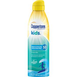 Coppertone Kids Continuous Spray SPF 50, 5.5 oz
