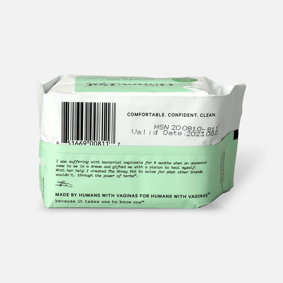The Honey Pot Everyday Herbal Pantiliners, 30ct, , large image number 1