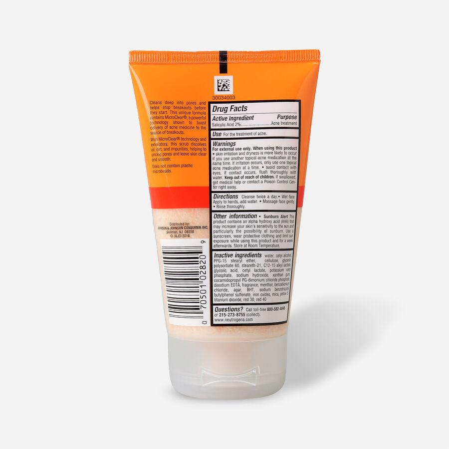 Neutrogena Oil-Free Acne Daily Face Scrub, 4.2oz., , large image number 1