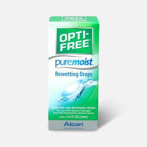 Opti-Free PureMoist Rewetting Drops, 12 ml