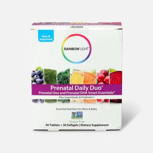 Rainbow Light Prenatal Daily Duo: Prenatal One + DHA 30 tab + 30 SG