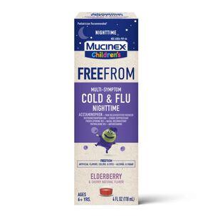 MUCINEX Children's Liquid, Multi-Symptom Cold and Flu Nighttime