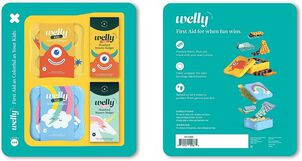 Welly Rainbow and Monster Bravery Badges Bundle, 144 pc
