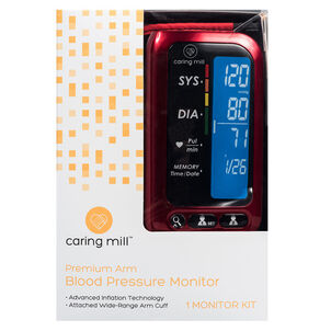 Caring Mill® Upper Arm Blood Pressure Monitor