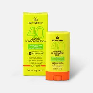 MDSolarSciences Mineral Sunscreen Stick Broad Spectrum SPF 40 UVA-UVB Sunscreen