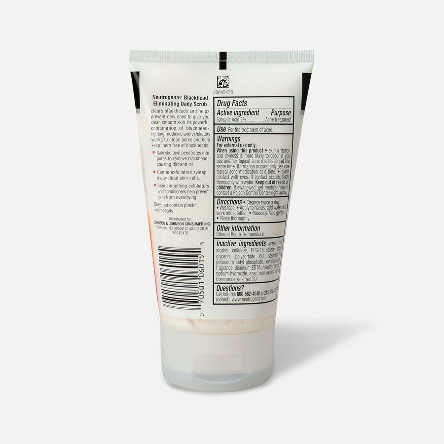 Neutrogena Blackhead Eliminating Daily Acne Scrub, 4.2oz., , large image number 1