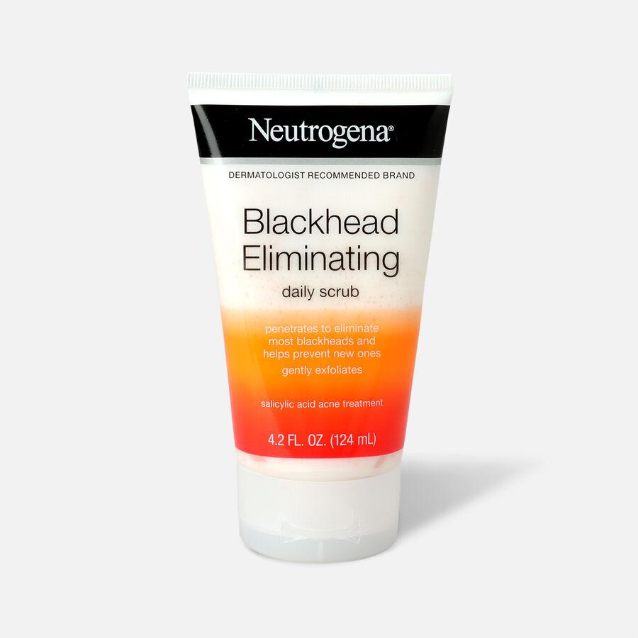 Neutrogena Blackhead Eliminating Daily Acne Scrub, 4.2oz., , large image number 0