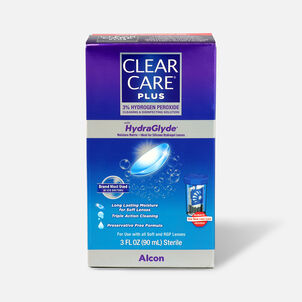 Clear Care Plus Cleaning and Disinfecting Solution