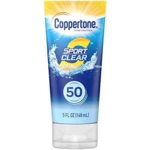 Coppertone Sport Clear Sunscreen Lotion, Spf 50, 5 Oz