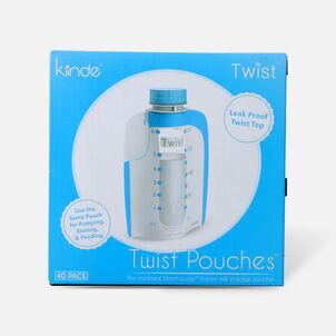Kiinde Storage Twist Pouch 6 oz, 40 ct