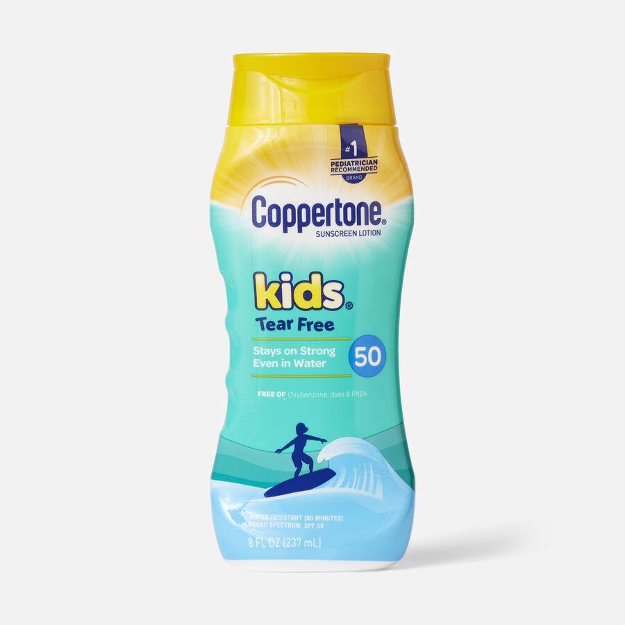 Coppertone Kids Mineral-Based Tear Free Sunscreen Lotion, Spf 50, 8 Oz, , large image number 0