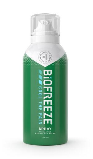 Biofreeze Pain Relieving 360 Spray, 3 oz