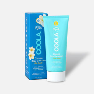Coola Classic Body Organic Sunscreen Lotion SPF 30 Pina Colada, 5oz.