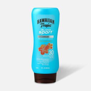 Hawaiian Tropic Island Sport Sunscreen Lotion, 8oz.